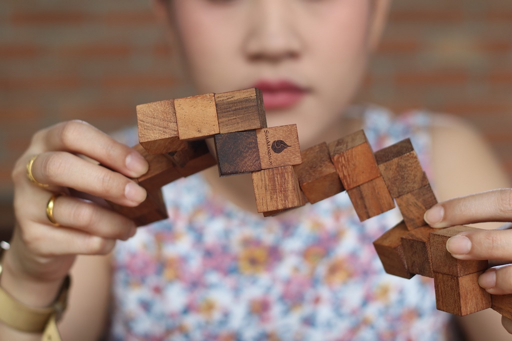 Children Wooden Puzzles Help Develop Cognitive Skills